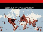 the global map of survey respondents